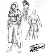 Design för Corinnas kläder.