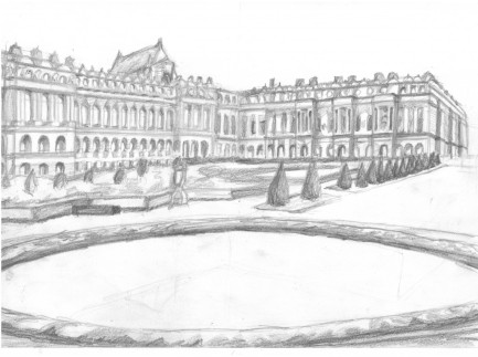 Blyertskiss av Versailles