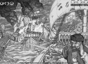 Inledande Rendering Claudio i Slaget vid Arbine