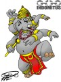 Ganesha Returns – in clear-line