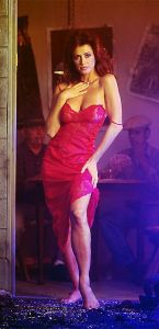 Ava Fabian red temptation