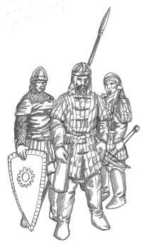 Bysantinska soldater