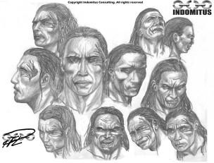 Yakane ansiktsstudie anno 2010