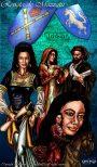En Fager Fantasy-Italienska: Renata de Mazzatti fårfärg