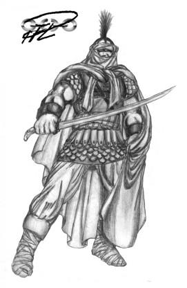 En romersk-bysantinsk Centurion i Judéen