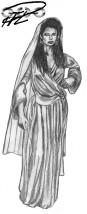 Bysantinsk klänning m dok?