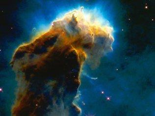 Stjärnors födelse i Örnnebulosan
