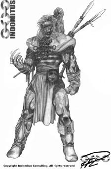 Torsekhi - Legendarisk Vättekrigare 1995
