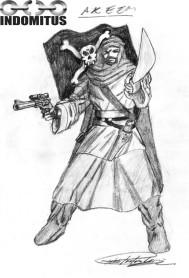 Akeem, piratkapten till Mutantspelare 1993