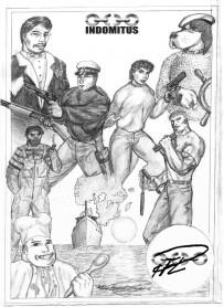 Samlingsbild Mutantkaraktärer till Argus 1993