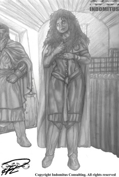 1:a Aranacea - tablån, med Corinna & Yakane