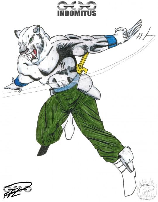 Albino Kloförsedd MutantSabeltand -1987