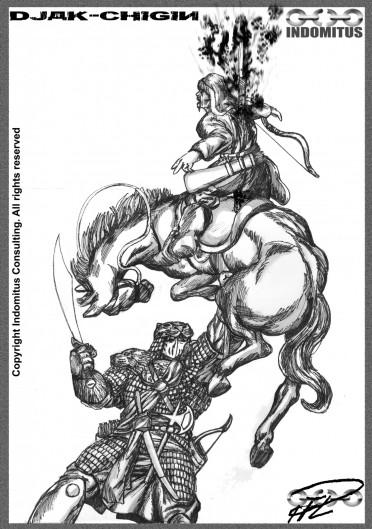 Djaq-Chigin Spetsar tudjut med häst 1
