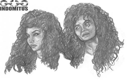 Äldre ansiktsstudier Corinna från Samantha Dorman