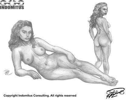 Zoe nakenstudier