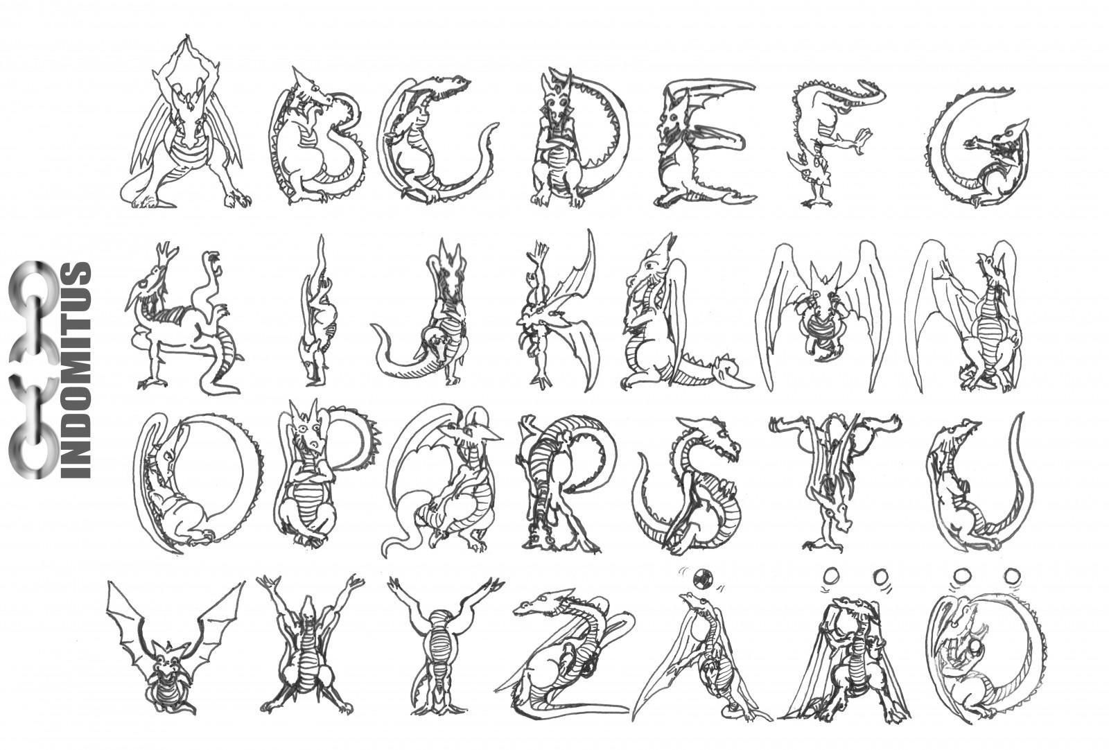symboler och bokstäver att kopiera