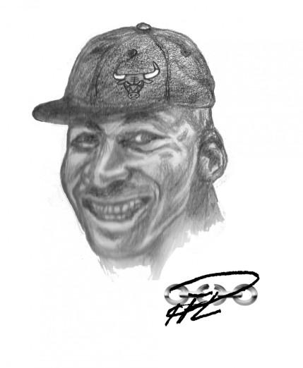 Racines Bild - Michael Jordan m Chicago Bulls-keps