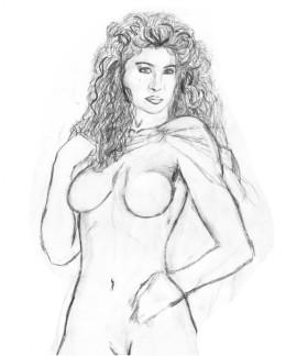 första skisser Corinna 1994