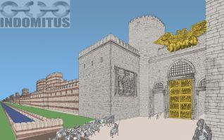 Storyboard den Gyllene Porten med Mur Color 2