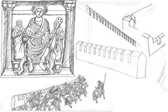 Storyboard Detaljer den Gyllene Porten