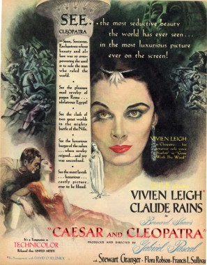 Caesar anda Cleopatra poster 2