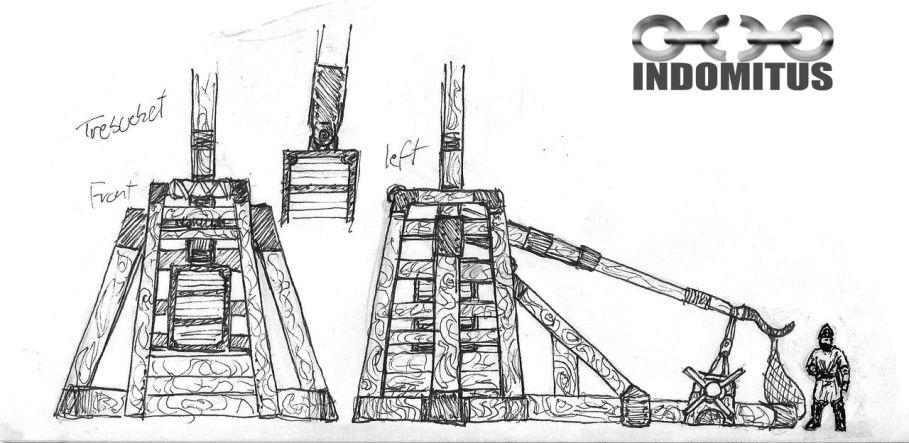 Design av Trebuchet för Aracanea
