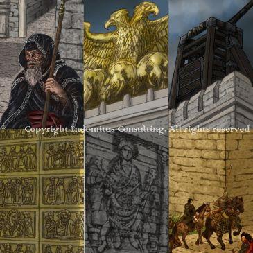 Detaljer ur bilden Aracanea-den gyllene porten