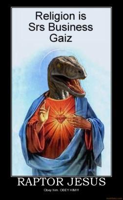 raptor-jesus-raptor-jesus-god-alex-jurassic-park-dinosaur-demotivational-poster-1219227799