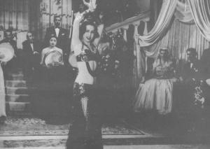 Samia Gamal i egyptisk nattklubb på 50-talet.