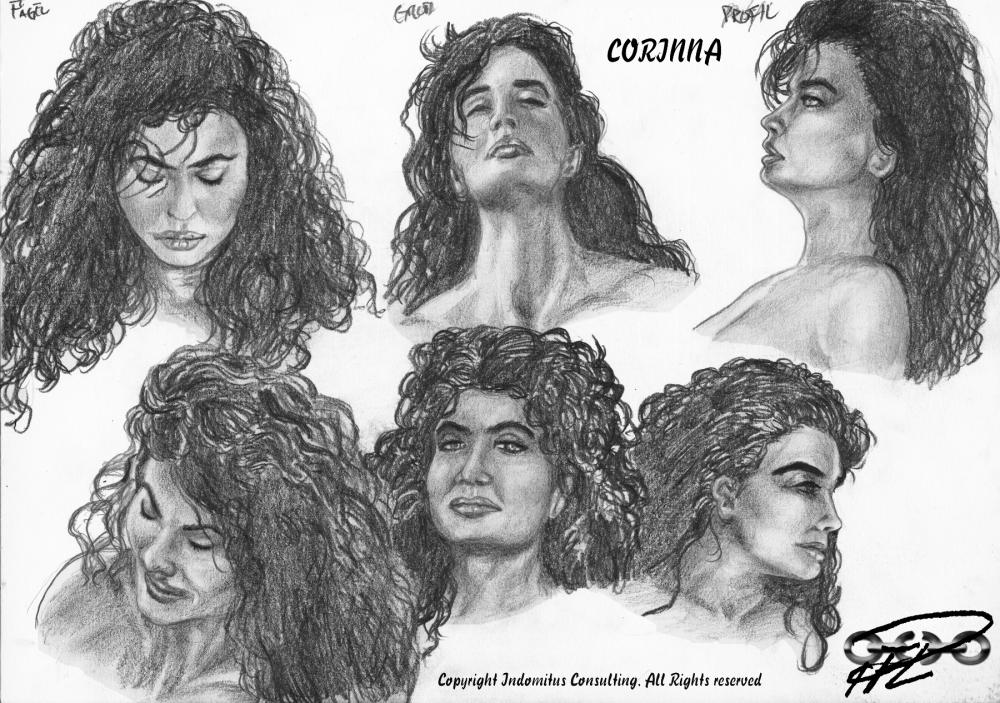 Corinna, den Sköna Krigaren del 2 - Ett ansiktes tjusning och vedermödor (3/6)
