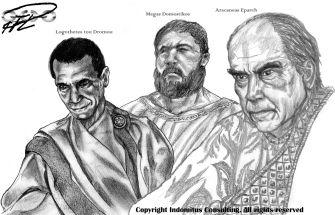 Toppmakthavare Aracanea: Logothetes tou Dromou, Megas Domestikos & Eparch