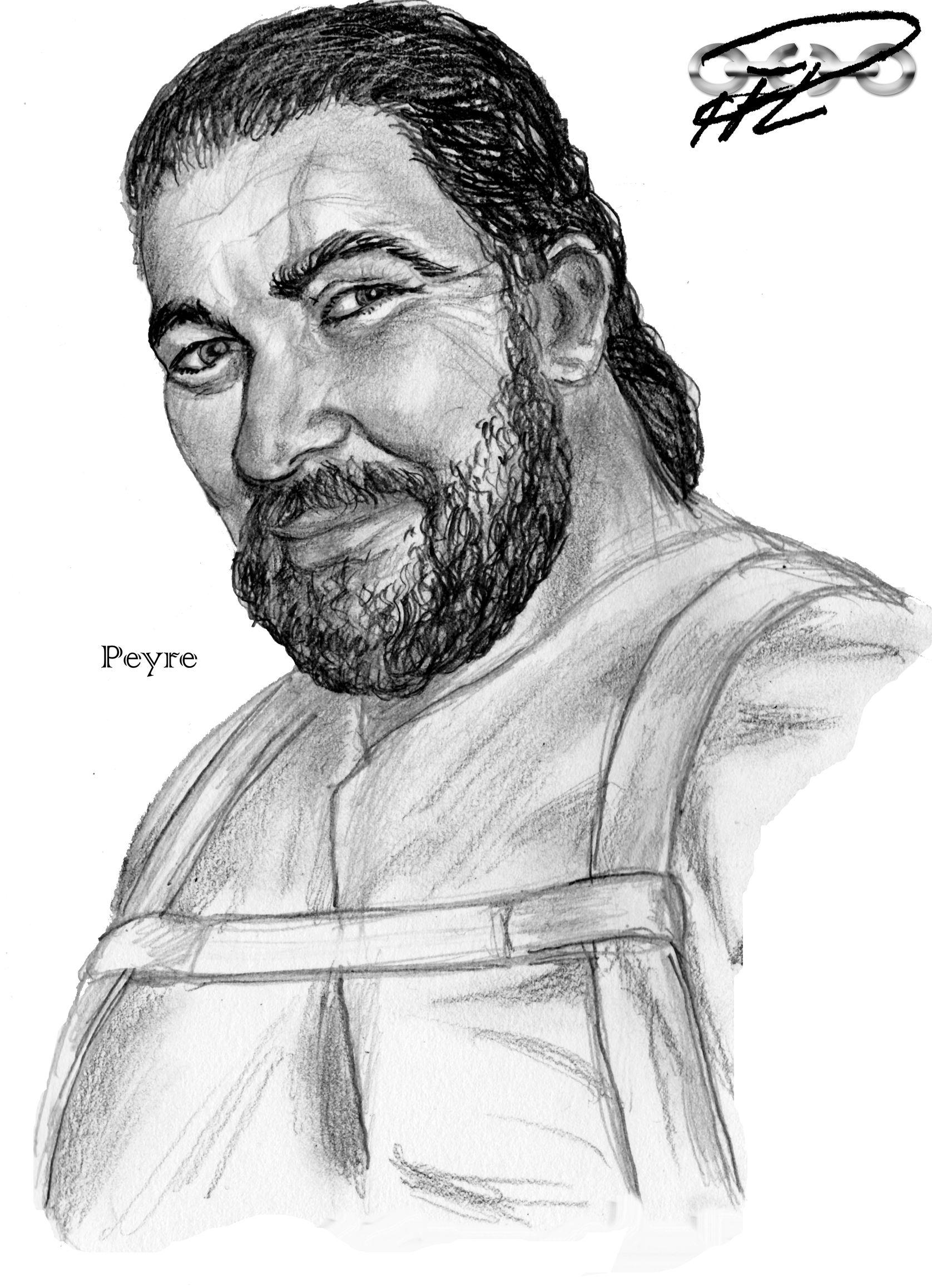 Peyre, legosldat hos Almutamers