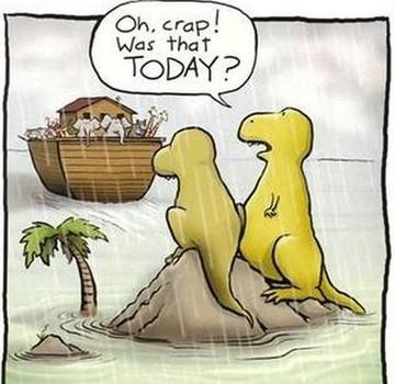 Dinosaurs and the Flood Dinosaurier och Noas Ark
