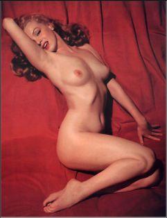 Marilyn Monroe nude studies