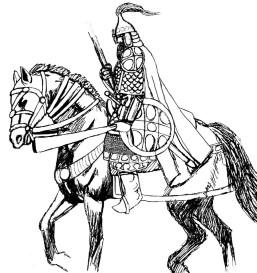 tuschskiss rysk krigare