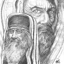 Rabbi Eliakim ben Solomon till vardags och närbild