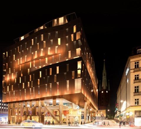 Nattvy förslag kvarteret orgelpipan jotell & stationshus