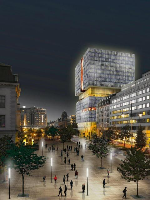 oma arkitekter förslagStationshus Orgelpipan Stockholm