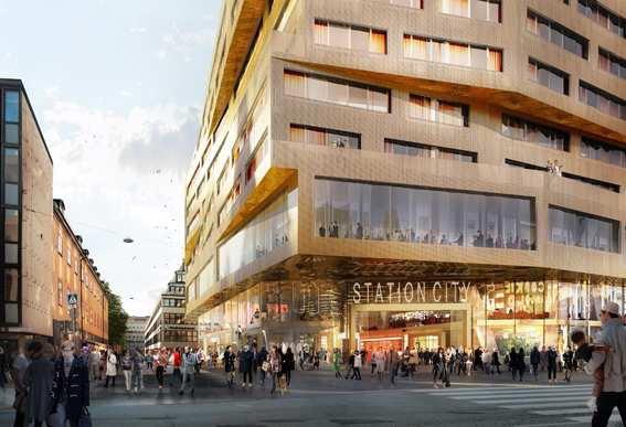 Scandic Continental ny Stationshus Stockholm entre