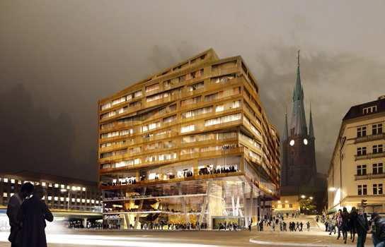 Scandic Continental ny Stationshus Stockholm