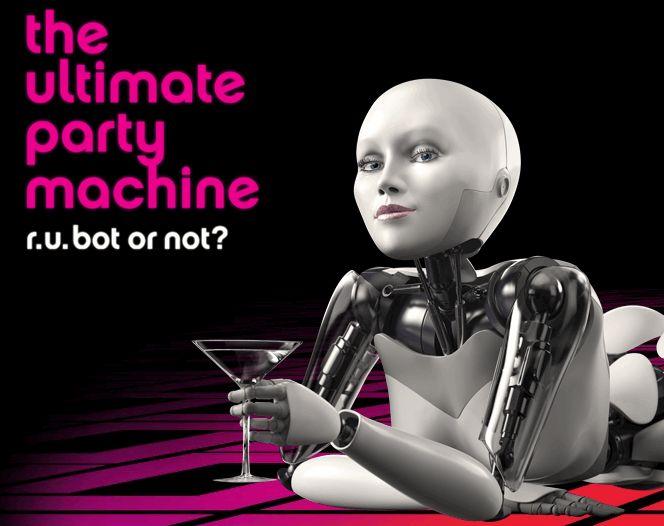 Robotvodka - funderingar kring en smaklös (?) kampanj och robotar som symboler. (3/6)