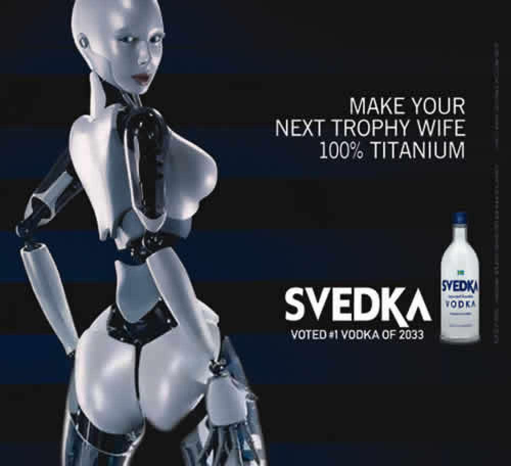 Robotvodka - funderingar kring en smaklös (?) kampanj och robotar som symboler. (1/6)