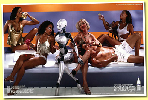 Robotvodka - funderingar kring en smaklös (?) kampanj och robotar som symboler. (4/6)