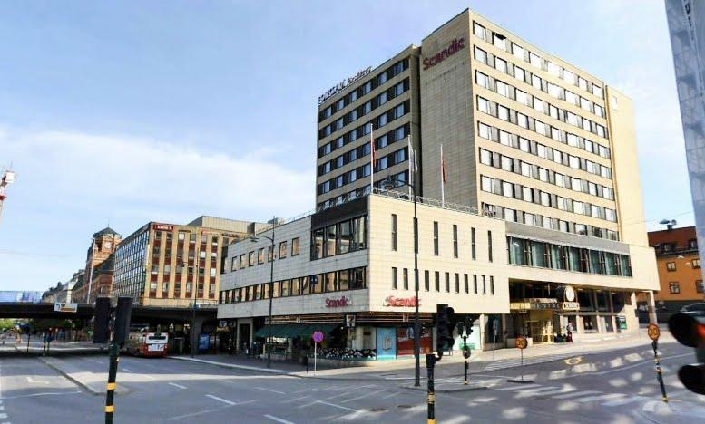 Vasagaten-klarabergsgatan kv Orgelpipan före ombyggnad Stockholm scandic hotel