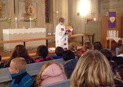 Adventsfirande i Kyrkan