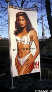 Cindy Crawford Hm ad annons