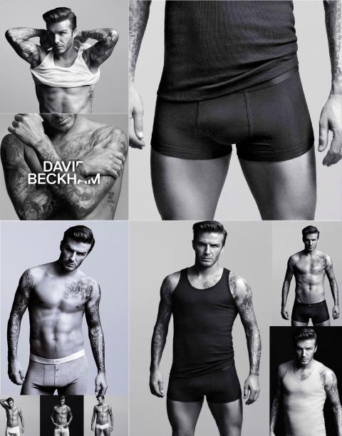 David Beckham H&M Underwear