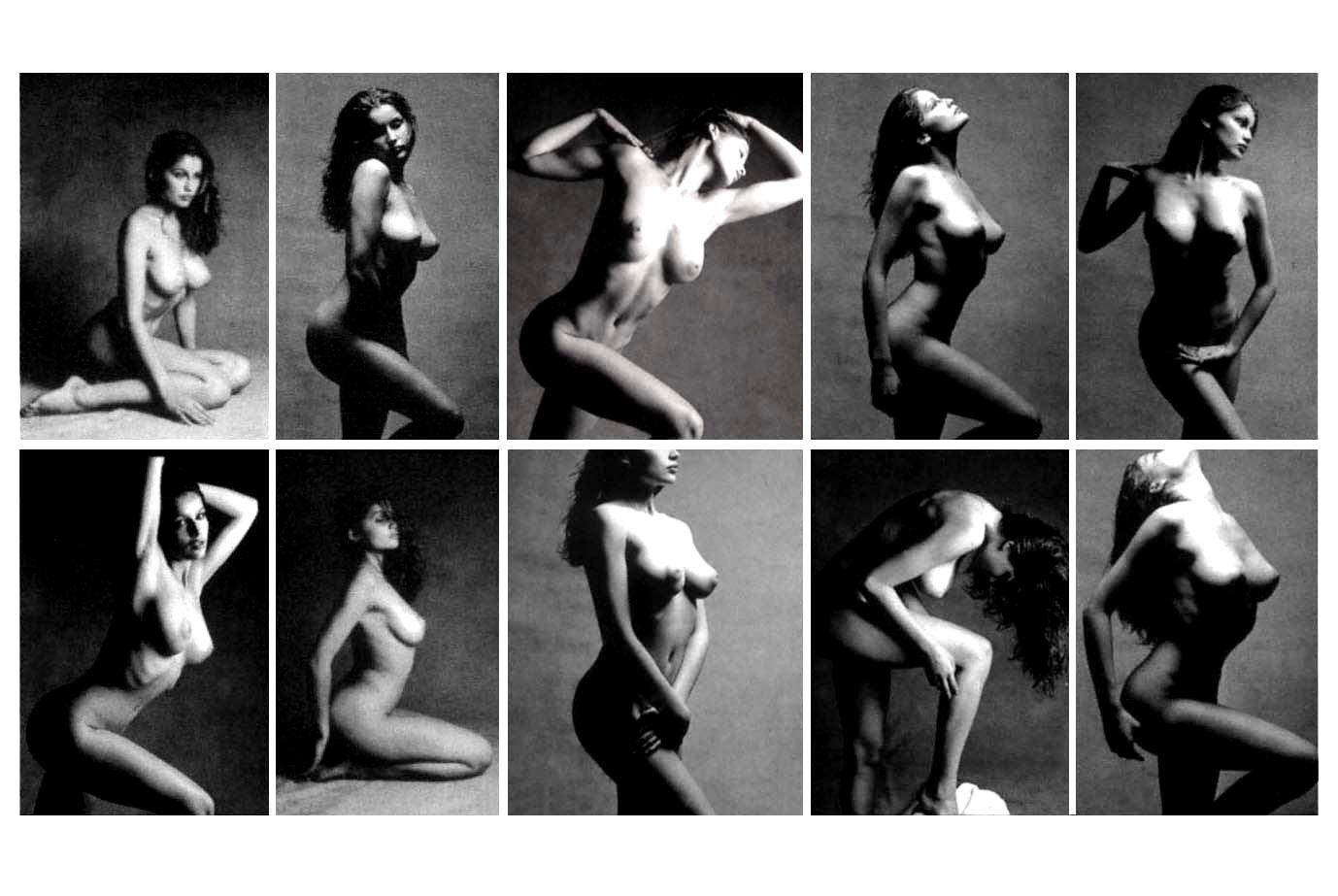 Laetitia Marie Laure Casta nude studies