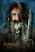 The Hobbit dwarfes poster-bifur