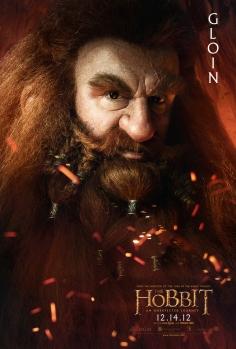 The Hobbit dwarfes poster-gloin